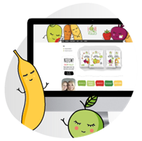 Love my veggies webshop in Wordpress